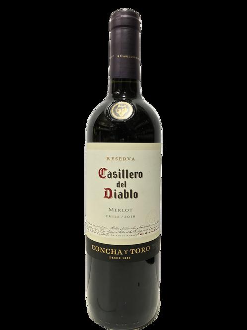 Vinho Tinto seco Casillero Merlot Chile