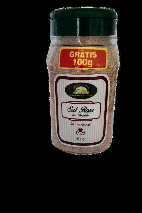 Sal Rosa Fino da Fazendinha - 100 gramas grátis