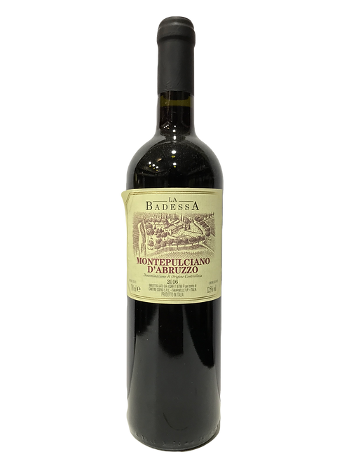 Vinho Tinto Seco Montepulciano d'abruzzo