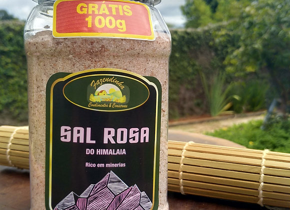 Sal Rosa Fino Fazendinha - 500 gramas
