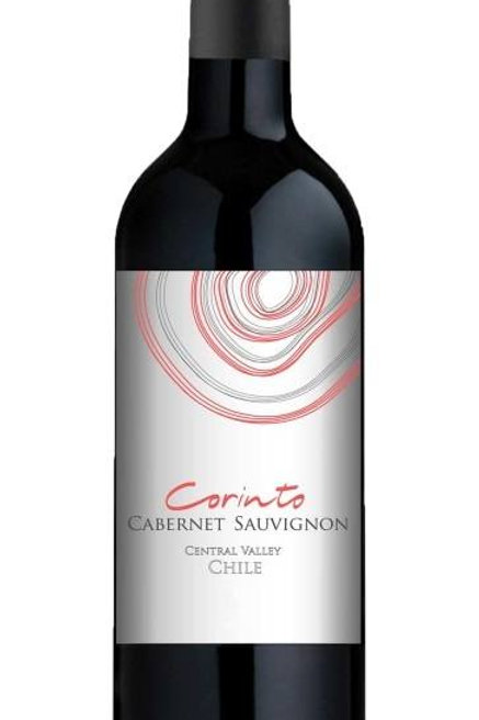Vinho Tinto seco Corinto Cabernet Sauvignon Chile