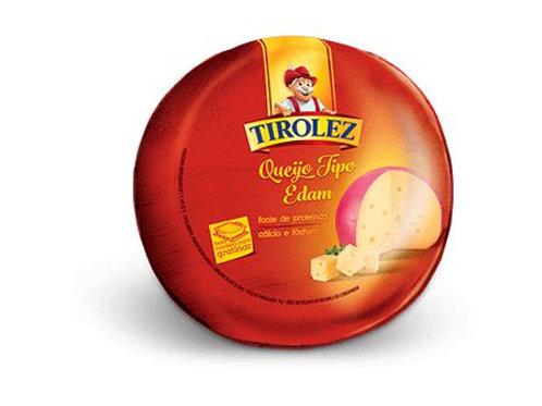 Queijo Edam Tirolez - 1,8 kg