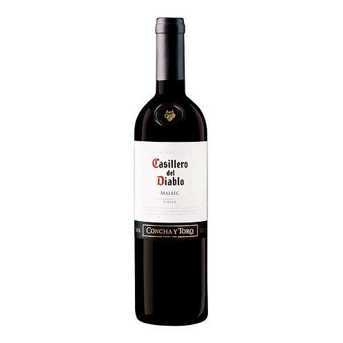 Vinho Tinto seco Casillero Del Diablo Malbec Chile