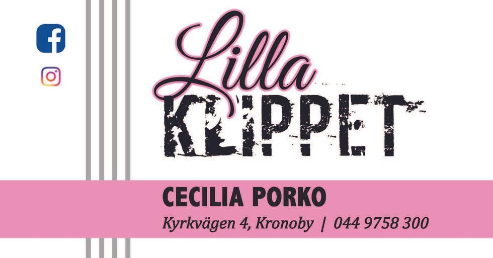 Visitkort / tidsbeställningskort Lilla Klippet