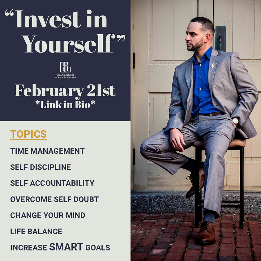 Invest in Yourself Workshop
