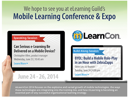 ZebraZapps Mobile Will Be Taking mLearnCon by Storm