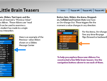 Try Out Our New Features with these Brain Teasers!