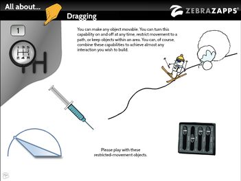 Discover ZebraZapps - All About Dragging!