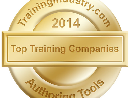 ZebraZapps Named TrainingIndustry.com Top 20 Authoring Tool Two Years in a Row