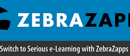 Switch to Serious e-Learning with ZebraZapps