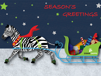 Happy Holidays from the ZebraZapps Team!