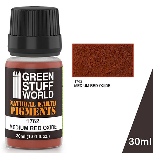 Green Stuff World: Natural Earth Pigments Medium Red Oxide