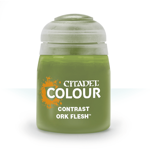 Citadel Colour: Ork Flesh Contrast