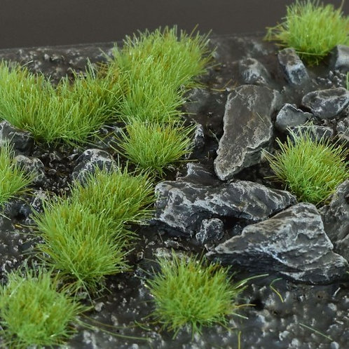 Gamers Grass: Green 4mm Wild Tufts