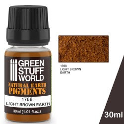 Green Stuff World: Natural Earth Pigments Light Brown Earth