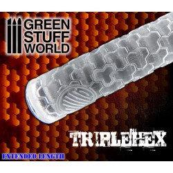 Green Stuff World: Texture Rolling Pin TRIPLEHEX