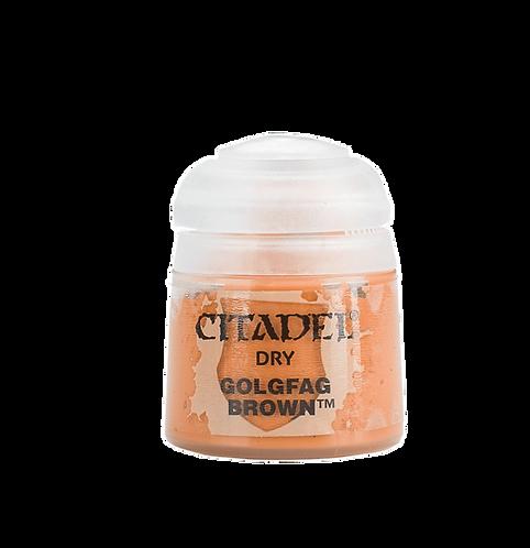 Citadel Colour: Golgfag Brown Dry
