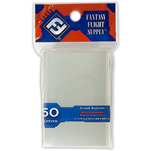 FFG: Mini European Sleeves Clear 44x68 mm