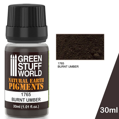 Green Stuff World: Natural Earth Pigments Burnt Umber