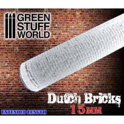 Green Stuff World: Texture Rolling Pin DUTCH BRICKS 15mm
