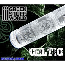 Green Stuff World: Texture Rolling Pin CELTIC