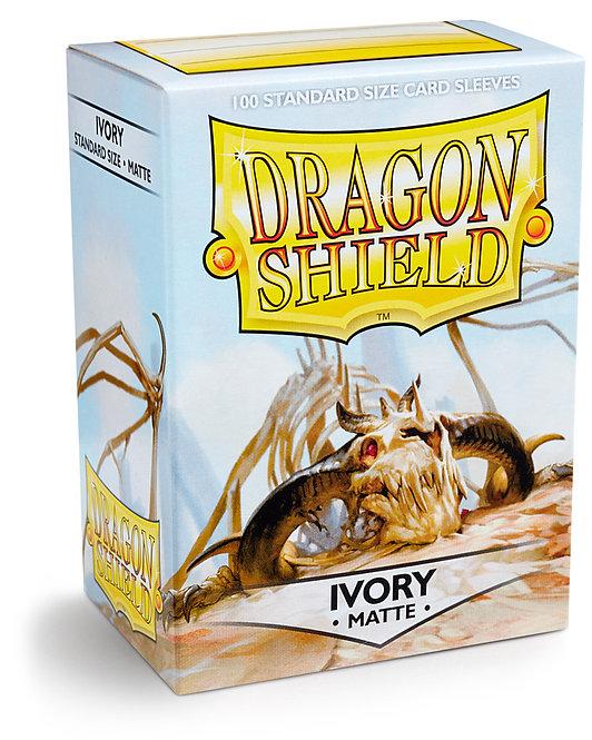 Dragon Shield: Matte Ivory Sleeves (100)