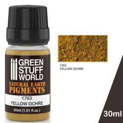 Green Stuff World: Natural Earth Pigments Yellow Ochre