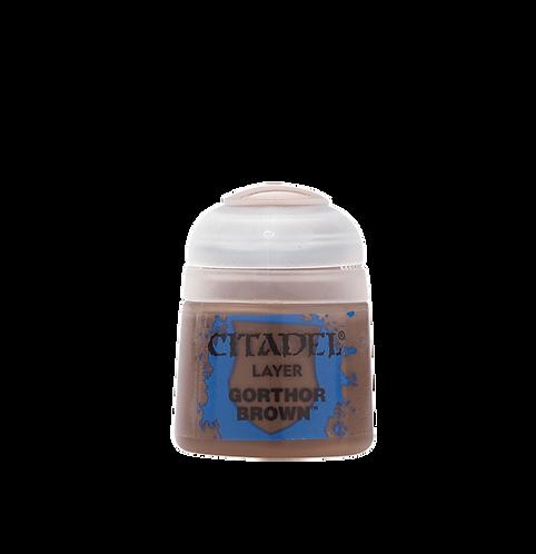 Citadel Colour: Gorthor Brown Layer