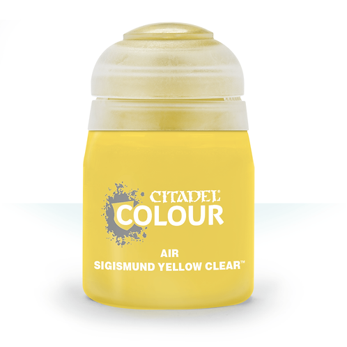 Citadel Colour: Sigismund Yellow Clear Air
