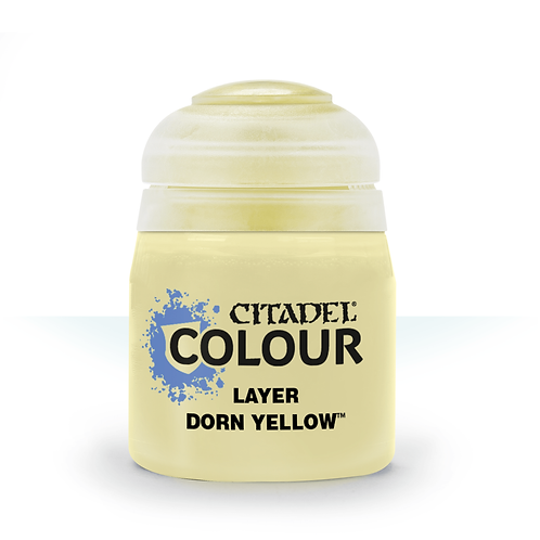Citadel Colour: Dorn Yellow Layer