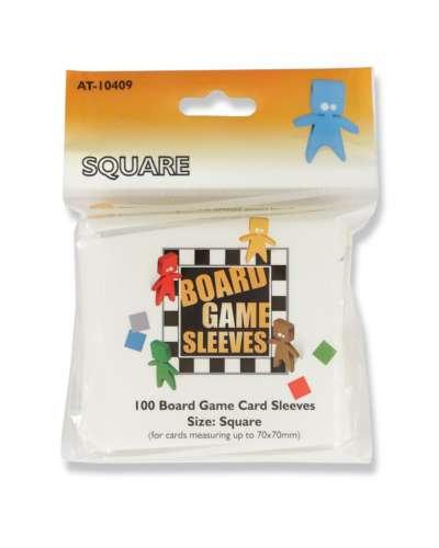 Arcane Tinmen: Card Sleeves Square Clear 70x70mm (100)