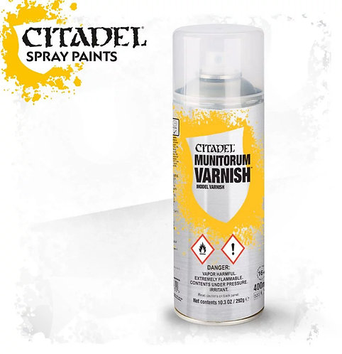 Citadel Colour: Munitorum Varnish Spray