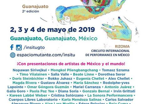 International Performance Art Festival InSitu Guanajuato 2019