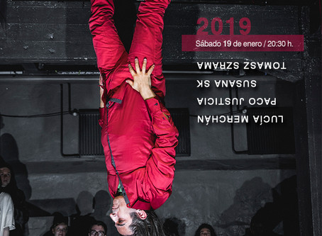 Pequeño Evento de Performance Art  in ABM Confecciones on 19.1. 2019 at 8.30pm All more than welcome