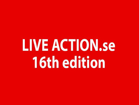 LIVE ACTION 16 celebrates its sixteen years