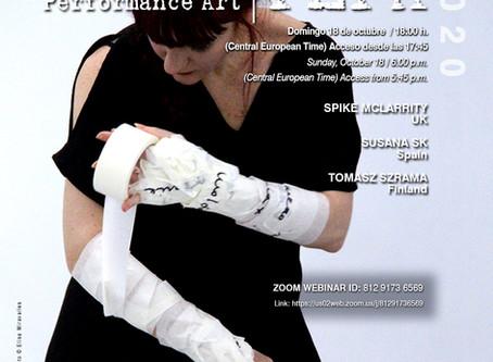 New session of P.E.P.A. Pequeño Evento de Performance Art