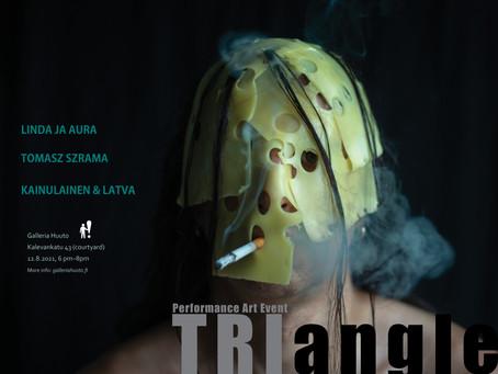 Triangle! Live Performance Art In Helsinki Again!