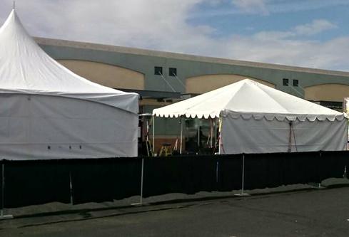 20 x 20 Tents for event in Lake Havasu City, AZ