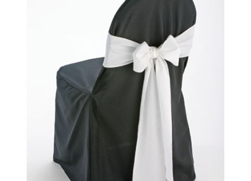 Chair Cover w/ Sash