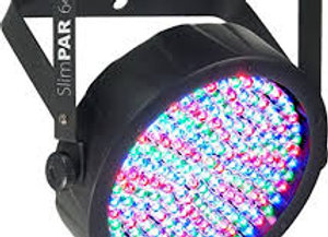 LED Par 64 Colored Lighting
