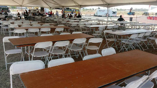 Tables & Chairs for Bike Week Event @ Mother Road Harley Davidson