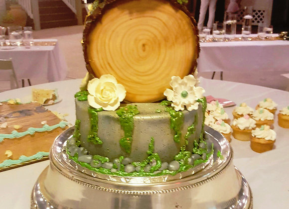 Round Cake Stand Plateaus