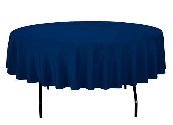 "90"" Round Polyester Tablecloth"