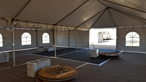 Inside Look (Pre Set-Up):At Our Monthly Event in Dolan Springs