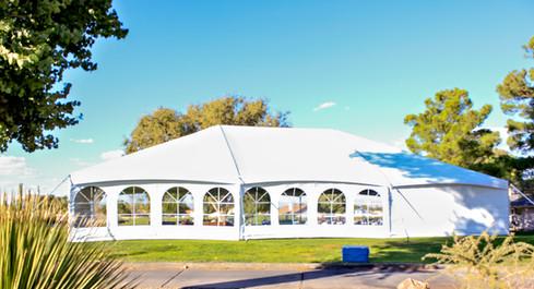Brand New 40 x 40 Keder Frame Tent for Hospice Fundraiser at Cerbat Cliffs Golf Course