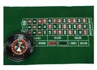 Roulette Mat & Wheel