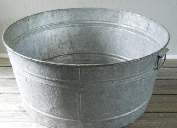 Round Galvanized Tubs