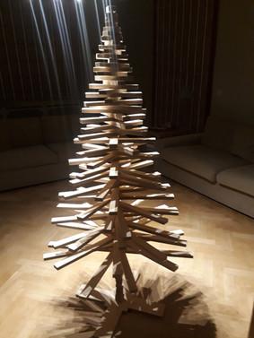 Beezwood - Delphine Vermer - Sapin Noël en bois