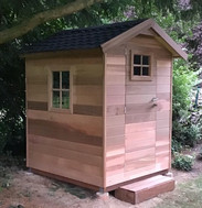 Cabane sur-mesure en cèdre