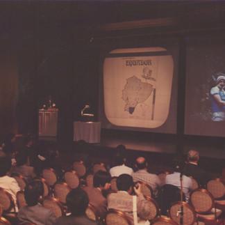 12º Conferencia Mundial de Orquídeas en Tokio, Japón 1987. Conferencia sobre las Orquideas del Ecuador.
